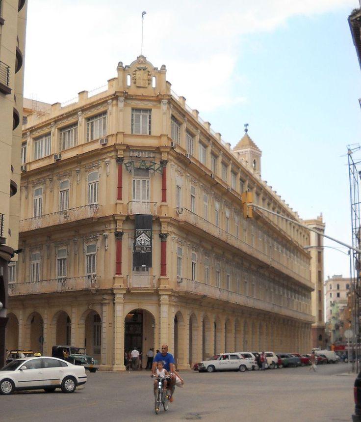 Plaza Hotel in Havana Cuba