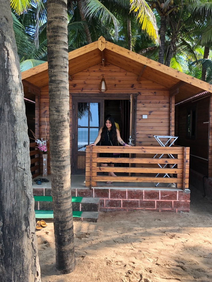 Galaxy Coastal cottages at Devbagh beach, travel blogger