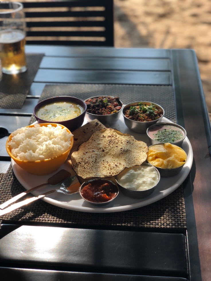 Malvani Vegetarian Thali, Indian food