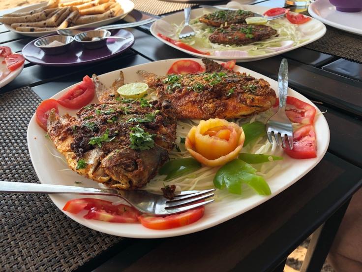 Delicious Malvani fish