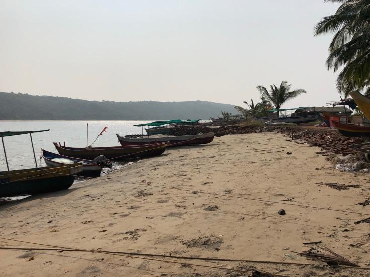 Devbagh beach in India