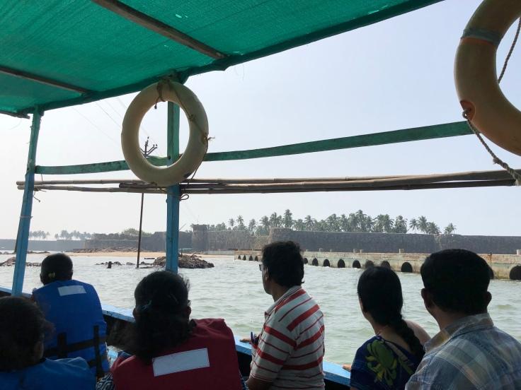 Sindhudurg fort, india, travel blog