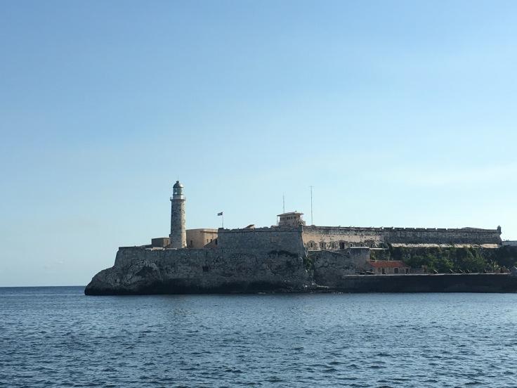 Gorgeous Morro Castle in Havana Cuba