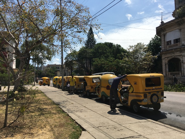Rickshaws Havana uba
