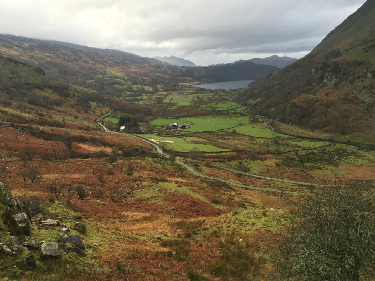 Valley of Nant Gwynant Snowdonia Wales