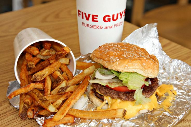 Five Guys Burger, Restaurant London