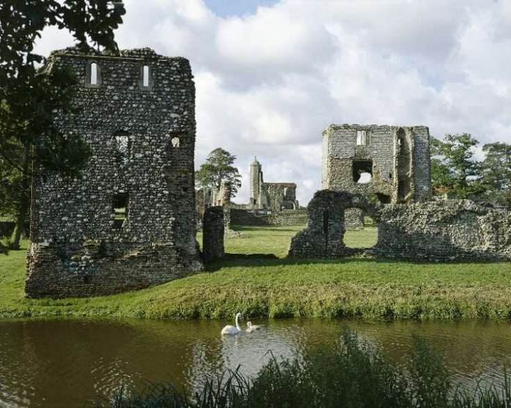 Baconsthorpe Castle, Norfolk coastal Road Trip