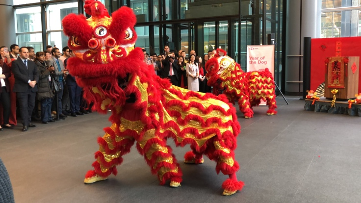 Dragon Dance, Chinese New Year Celebrations, Year of the Dog