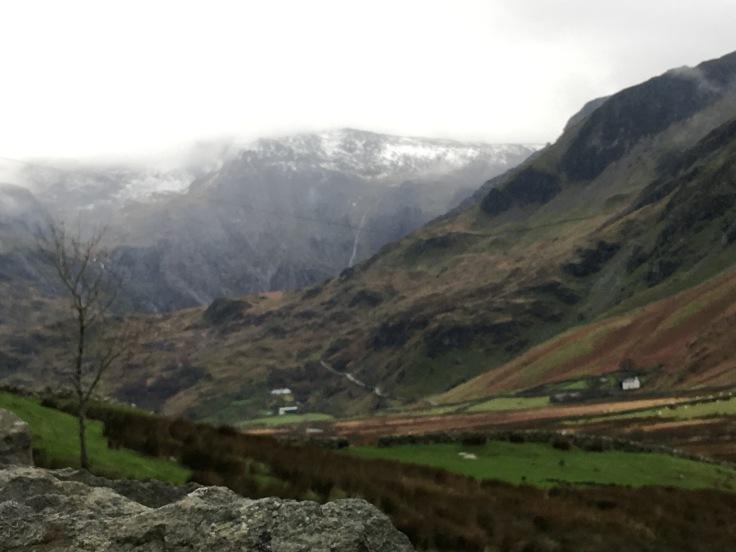 Llanllechid Snowdonia Wales
