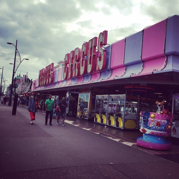 Great Yarmouth Arcade, Norfolk, Road Trip