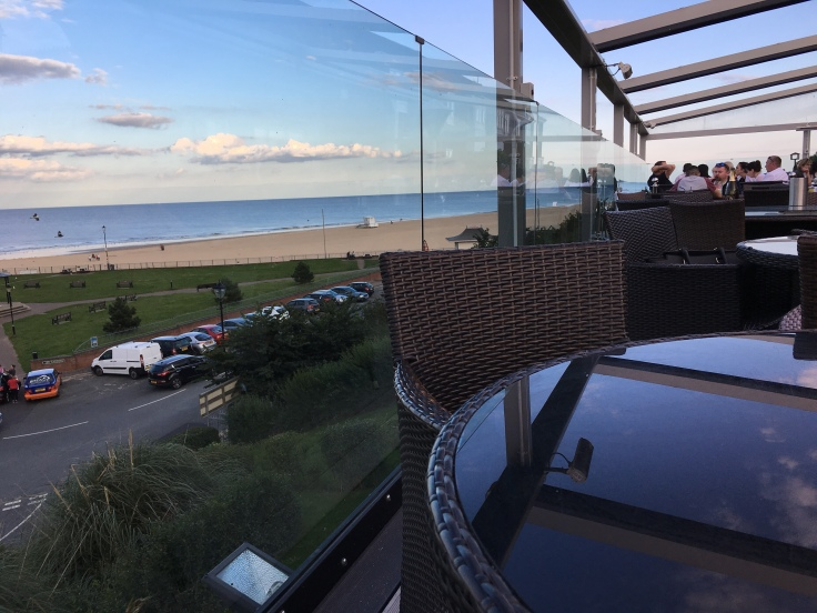 Views from the Clidd Hotel in Gorleston, Great Yarmouth, Norfolk Road Trip. Piyus World adventure travel