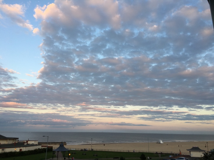 Views from the Cliff Hotel in Gorleston, Great Yarmouth, Norfolk Road Trip. Piyus World adventure travel