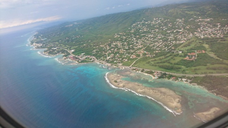 Up in the Clouds - Flight Photography Above Blue Caribbean Seas Jamaica