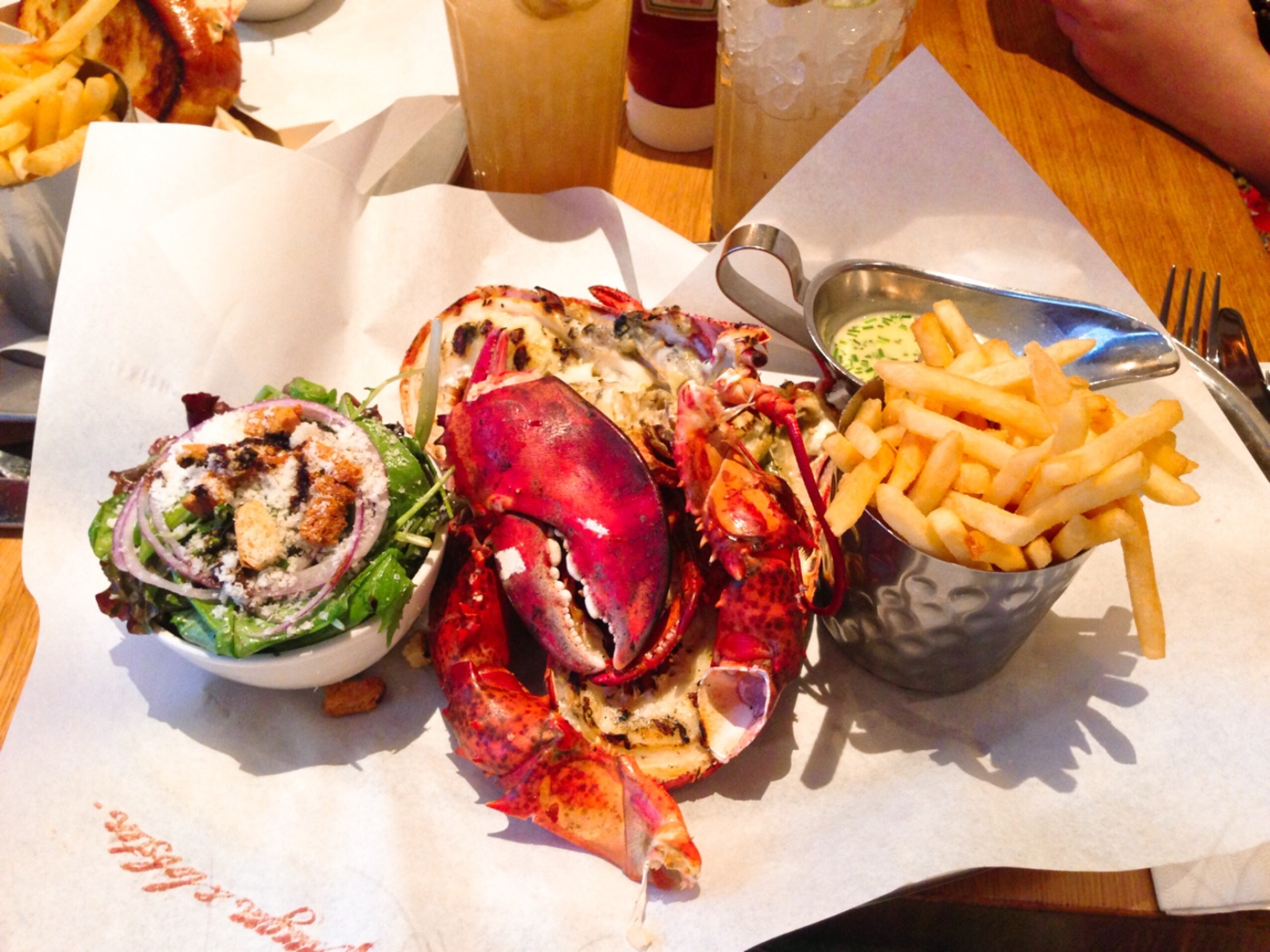 Burger and Lobster London, Restaurant